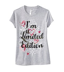 Beautees Girls' 7-16 Short Sleeve Limited Edition Tee