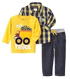 Nannette® Baby Boys' 3-Piece Dump Truck Set