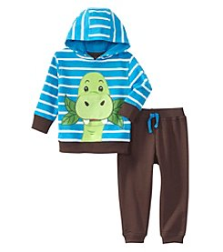 Nannette® Baby Boys Dino Hoodie And Fleece Joggers Set