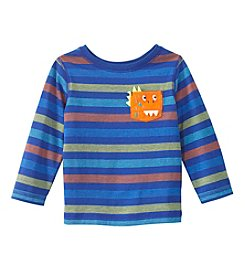 Mix & Match Baby Boys Long Sleeve Dino Pocket Tee