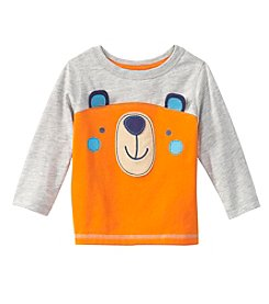 Mix & Match Baby Boys Long Sleeve Bear Tee