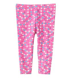 Mix & Match Baby Girls' Heart Leggings