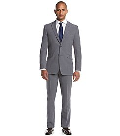 English Laundry® Men's Navy Checked 2-Piece Suit