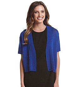 Notations® Cap Sleeve Shrug