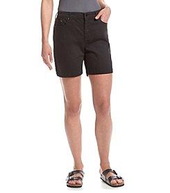 Bandolino® Twill Mandie Shorts