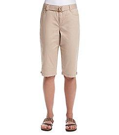 Bandolino® Twill Brady Skimmer Capri Pants