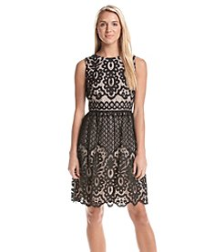 Tommy Hilfiger® Lace Fit And Flare Dress
