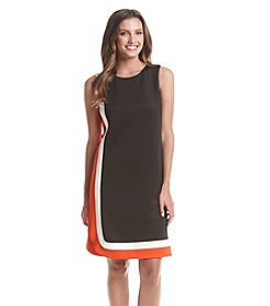 Tommy Hilfiger® Stripe Shift Scuba Dress
