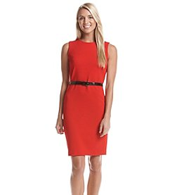 Tommy Hilfiger® Belted Sheath Dress