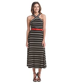 Tommy Hilfiger® Striped Halter Dress