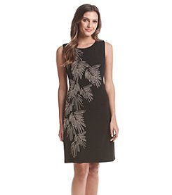 Tommy Hilfiger® Palm Sheath Dress