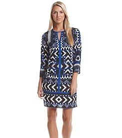 Vince Camuto® Printed Shift Dress