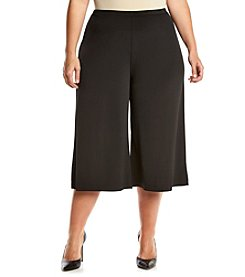 MICHAEL Michael Kors® Plus Size Wide Leg Culotte Pants