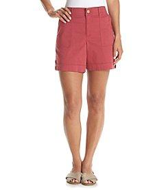 Gloria Vanderbilt® Petites' Frida Promo Cargo Shorts