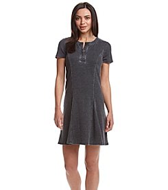 G.H. Bass & Co. Faded Waffle T-Shirt Dress