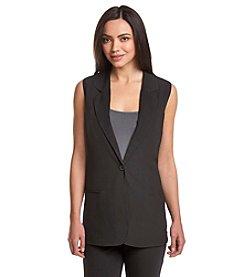 Ruff Hewn GREY Maxi Blazer Vest