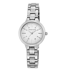 Anne Klein® Women's Polished Silvertone