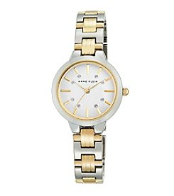 Anne Klein® Women's Polished Two-Tone