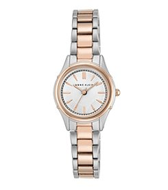 Anne Klein® Women's Two Tone Polished Bracelet Watch