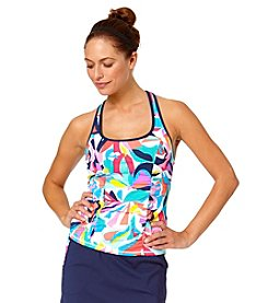 Anne Cole® Bright On Racerback Tankini Top