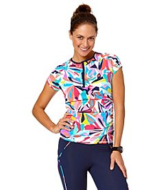 Anne Cole® Bright On Cap Sleeve Rashguard Cover-Up