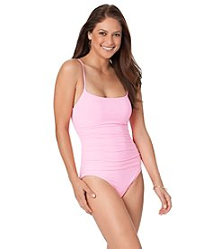 Anne Cole® Side Shirred One Piece