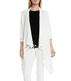 Vince Camuto® Drape Front Cardigan