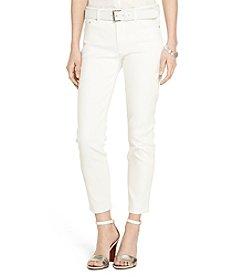 Lauren Ralph Lauren® Petites' Cropped Premier Straight Jeans