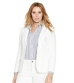 Lauren Ralph Lauren® Monogrammed Two-Button Jacket