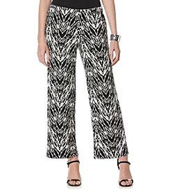Rafaella® Petites' Printed Pant