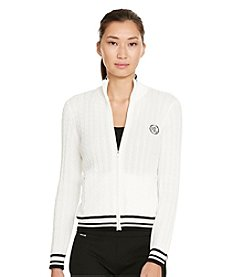 Lauren Active® Long-Sleeve Mockneck Jacket
