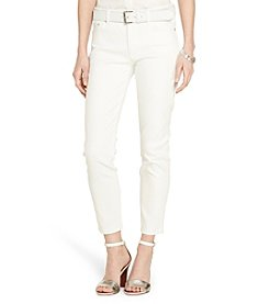 Lauren Jeans Co.® Straight Cropped Stretch Jeans