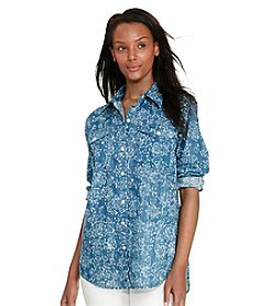 Lauren Jeans Co.® Printed Dobby Shirt
