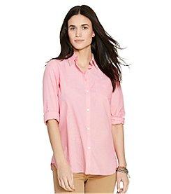 Lauren Jeans Co.® Chambray Pocket Shirt