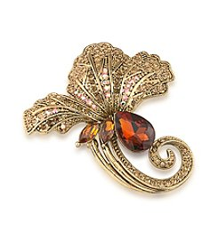 Carolee® Golden Glory Pin