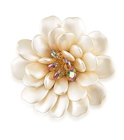 Carolee® Pearl Blossoms Pin