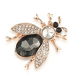 Carolee® Botanical Beetle Pin