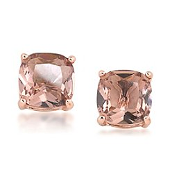 Carolee® Pocket Park Cushion Stud Clip-On Earrings