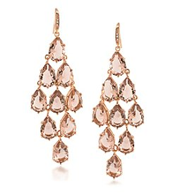 Carolee® Pocket Park Chandelier Pierced Earrings