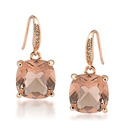 Carolee® Pocket Park Cushion Drop Pierced Earrings