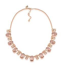 Carolee® Pocket Park Frontal Choker Necklace