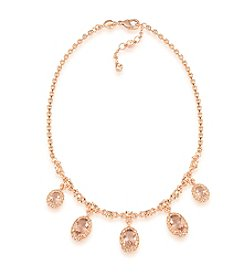 Carolee® Pocket Park Frontal Drop Necklace