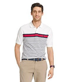 Izod® Men's Short Sleeve Striped Polo