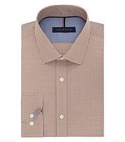 Tommy Hilfiger® Men's Gingham Long Sleeve Dress Shirt