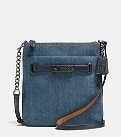 COACH SWAGGER SWINGPACK IN DENIM