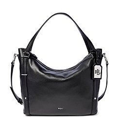 Lauren Ralph Lauren® Felicity Leather Hobo