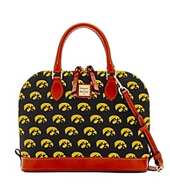 Dooney & Bourke® NCAA® Iowa Hawkeyes Zip Zip Satchel