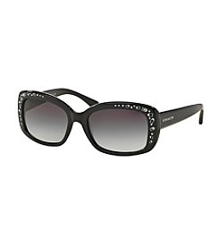 COACH CRYSTAL SQUARE GRADIENT SUNGLASSES