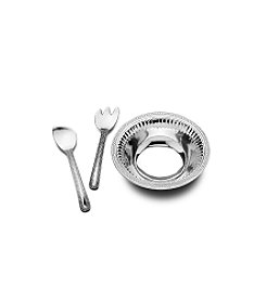 Wilton Armetale® Flutes & Pearls™ Collection - 3-Piece Salad Set