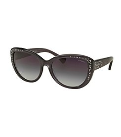 COACH CRYSTAL GRADIENT CAT-EYE SUNGLASSES